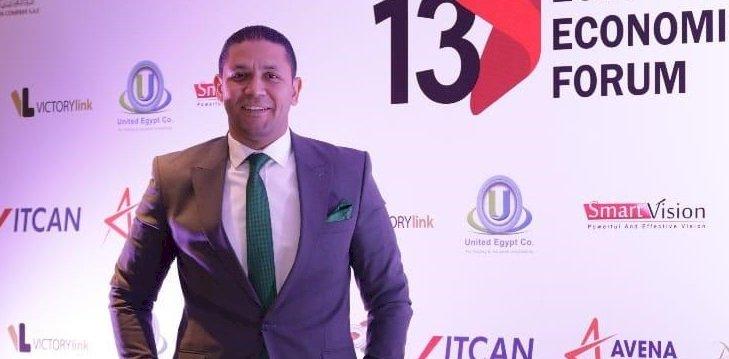 تكريم محمد مسعود ضمن أفضل ٥٠ شخصية مؤثرة في الاقتصاد بالمنتدي المصري